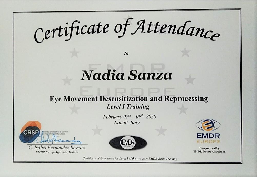 Con l'EMDR si trattail trauma e non sololesso e delle problematiche legate allo stress ed al trauma